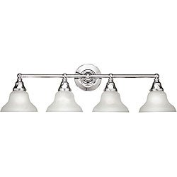 World Imports Asten Collection 4-Light Bath Bar