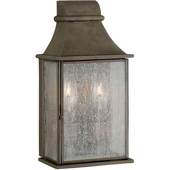 World Imports Dark Sky Revere Collection 2-Light Outdoor Wall Lantern