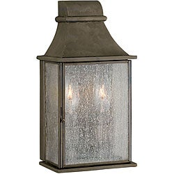 World Imports Dark Sky Revere Collection 2-Light Outdoor Wall Lantern