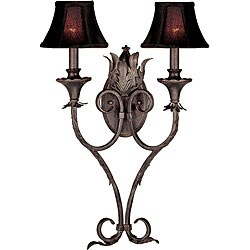 World Imports Pavia Collection 2-light Wall Sconce