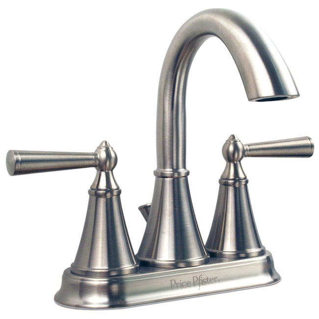 Price Pfister Saxton Brushed Nickel Bathroom Faucet