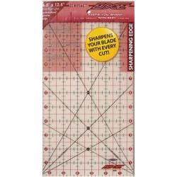 The Cutting Edge 6.5x12.5-inch Frosted Ruler