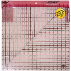 The Cutting EDGE 16.5 x 16.5-inch Frosted Ruler