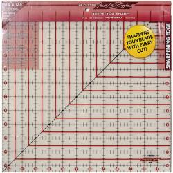 The Cutting EDGE 12.5 x 12.5-inch Frosted Ruler