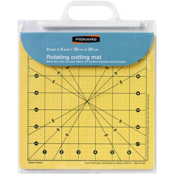 Fiskars Self-healing 8x8 Rotating Cutting Mat