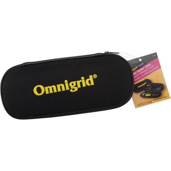 Omnigrid Black Plastic Zipper-closure Gear Rotary Cutter Case