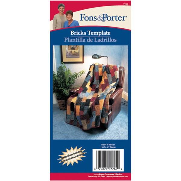 Fons & Porter Bricks Template