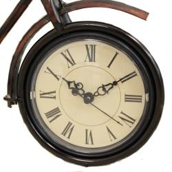 Casa Cortes Tandem Bicycle Accent Clock