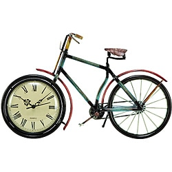 Casa Cortes Bicycle Accent Clock