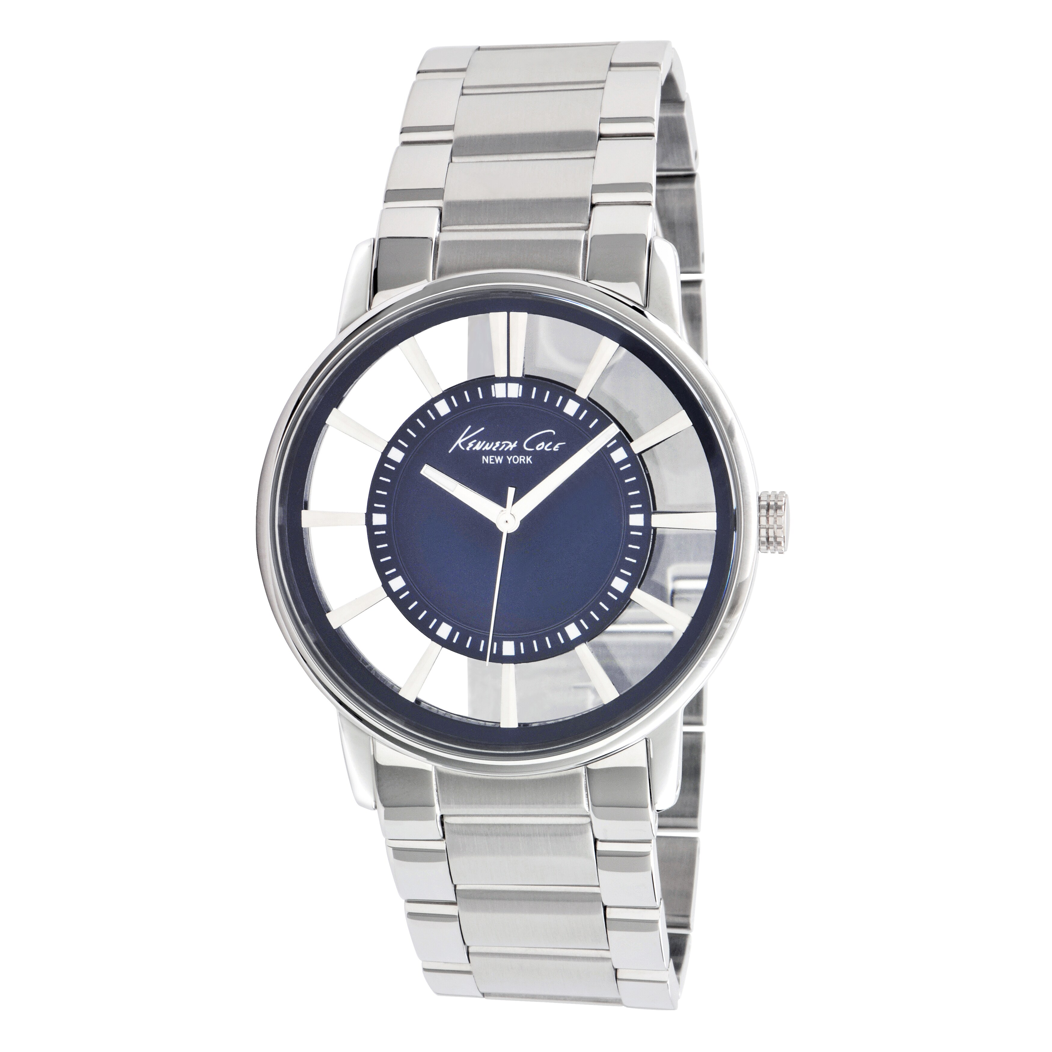 Kenneth Cole New York Men's Transparency Dial Watch