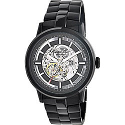Kenneth Cole New York Men's Black Steel Automatic Watch