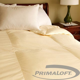 European Cotton PrimaLoft Cream Down Alternative Comforter