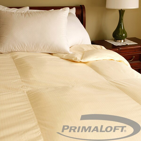 European Cotton PrimaLoft Cream Down Alternative Comforter