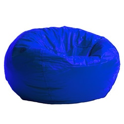 BeanSack Royal Blue Vinyl Bean Bag Chair
