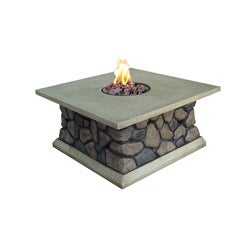Tuscan Ridge Envirostone Outdoor Gas Fire Table