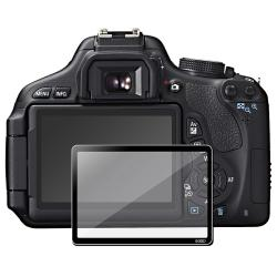 INSTEN Clear Screen Protector Glass for Canon EOS 600D