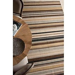 Flat-weave Wool Area Rug (4' x 6')
