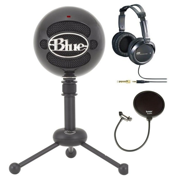 Blue Microphones Snowball Black USB Microphone Kit