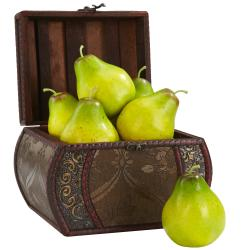 Faux Pears (Set of 6)