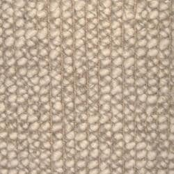 Lhasa Natural Tan and Beige Wool and Jute Rug (8' x 10')