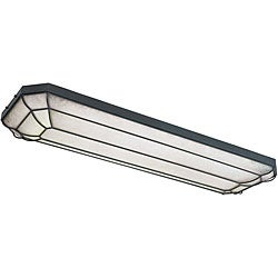 World Imports Fluorescent Collection 4-light Flushmount
