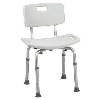 Grey bathroom safety shower tub bench chair with back 14919000 shopping top for Drive medical bathroom safety shower tub chair