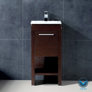 Vigo 16-inch Aristo Single Bathroom Vanity
