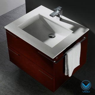 Vigo 31-inch Single Bathroom Vanity (Refurbished)