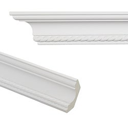 Rope 3.1-inch Crown Molding (Set of 8)