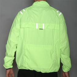 PT Sports Safety Yellow Longsleeve Breathable Bike/Running Jacket