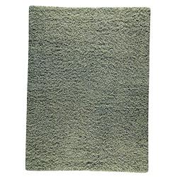Hand-woven Smix Green Wool Rug (8'3 x 11'6)