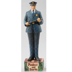 Jim Shore 'Police Officer' Figurine