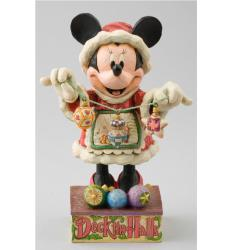 Jim Shore 'Minnie Mrs. Claus' Figurine