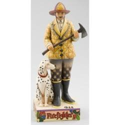 Jim Shore 'Fire Fighter' Figurine