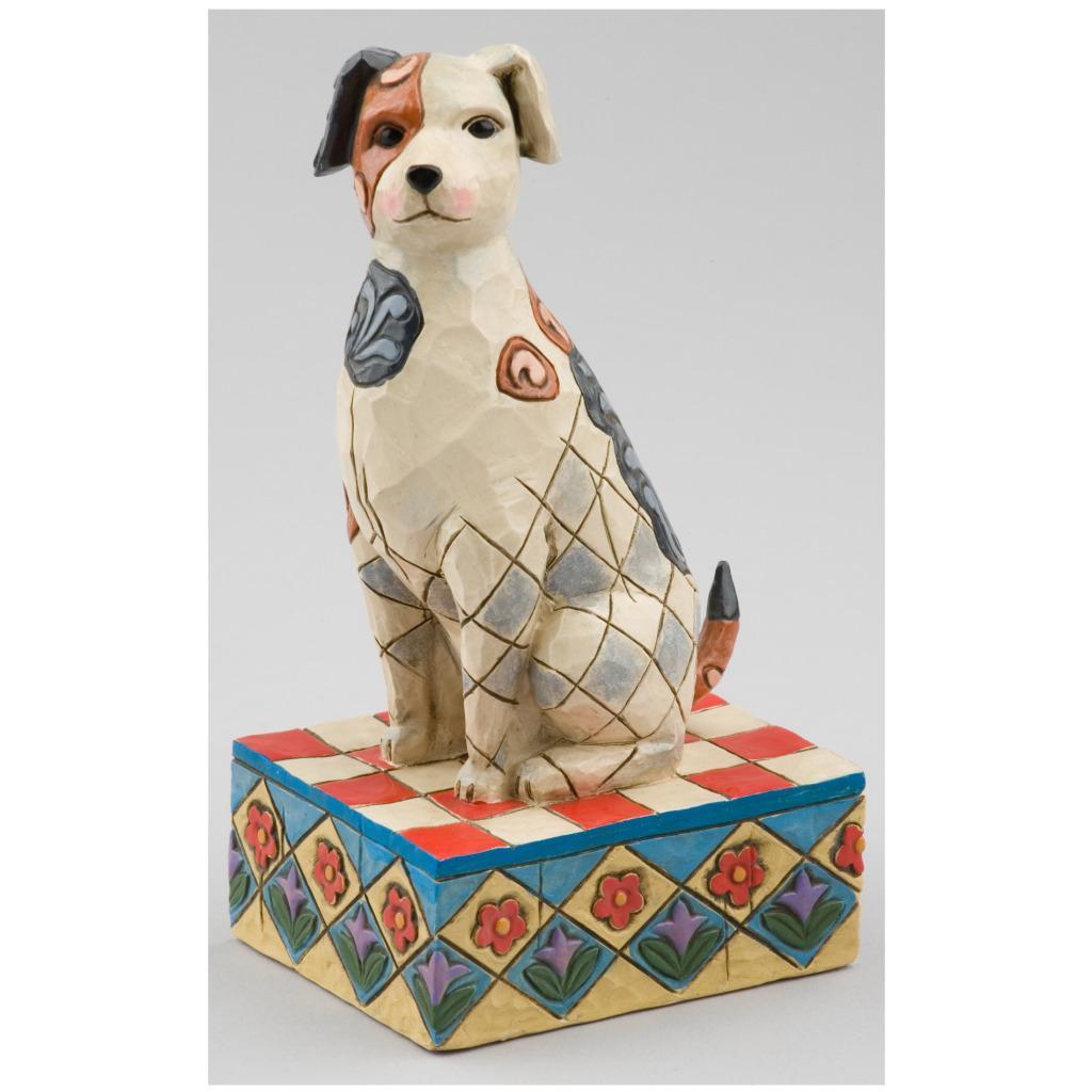 Jim Shore 'Terrier' Figurine