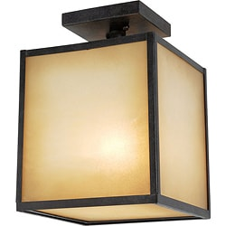 World Imports Hilden Outdoor Collection Single Ceiling Mount Light