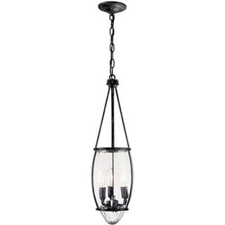 World Imports Crystal Elegance Collection 3-light Hanging Pendant