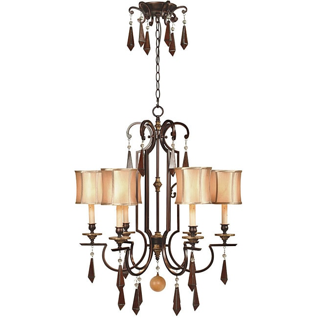 World Imports Turin Collection 6-light Chandelier