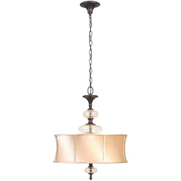 World Imports Chambord Collection 3-light Iron Pendant