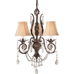 World Imports Berkeley Square 3-light Chandelier