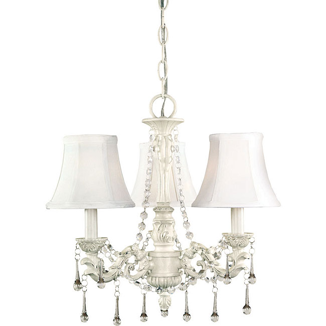 World Imports Alyssa Collection 3-Light Chandelier