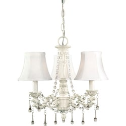 World Imports Alyssa Collection 3-Light Chandelier