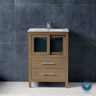 Vigo 24-inch Alessandro Single Bathroom Vanity