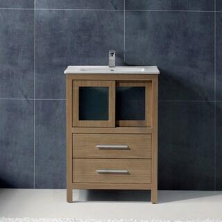 Vigo 24-inch Alessandro Single Bathroom Vanity