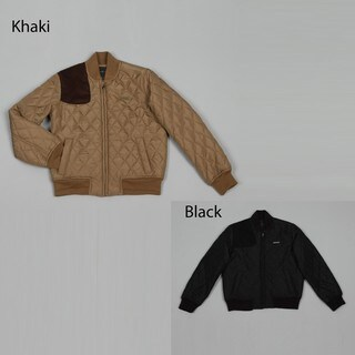 Sean John Big Boy's Black Diamond-quilt Jacket
