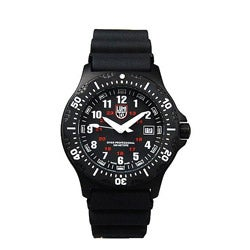 Luminox Men's Black Ops Black Rubber Watch