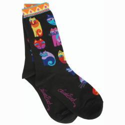 Laurel Burch Socks 'Feline Festival'