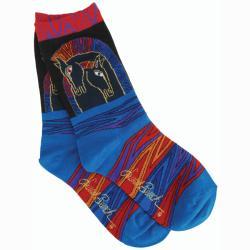 Laurel Burch Women's Loving Horses Socks