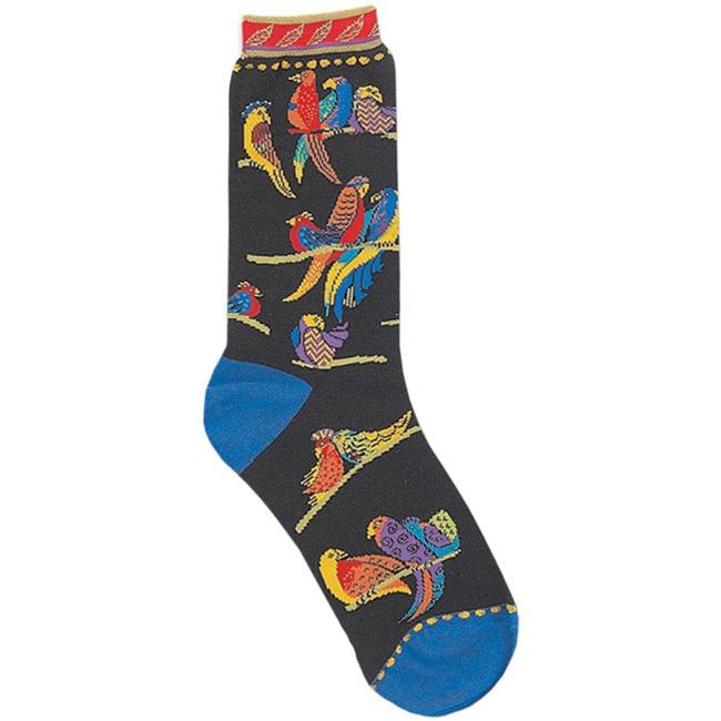 Laurel Burch Women's Birds of Paradise Socks