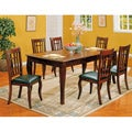 Cherry Finish Dining Table Set